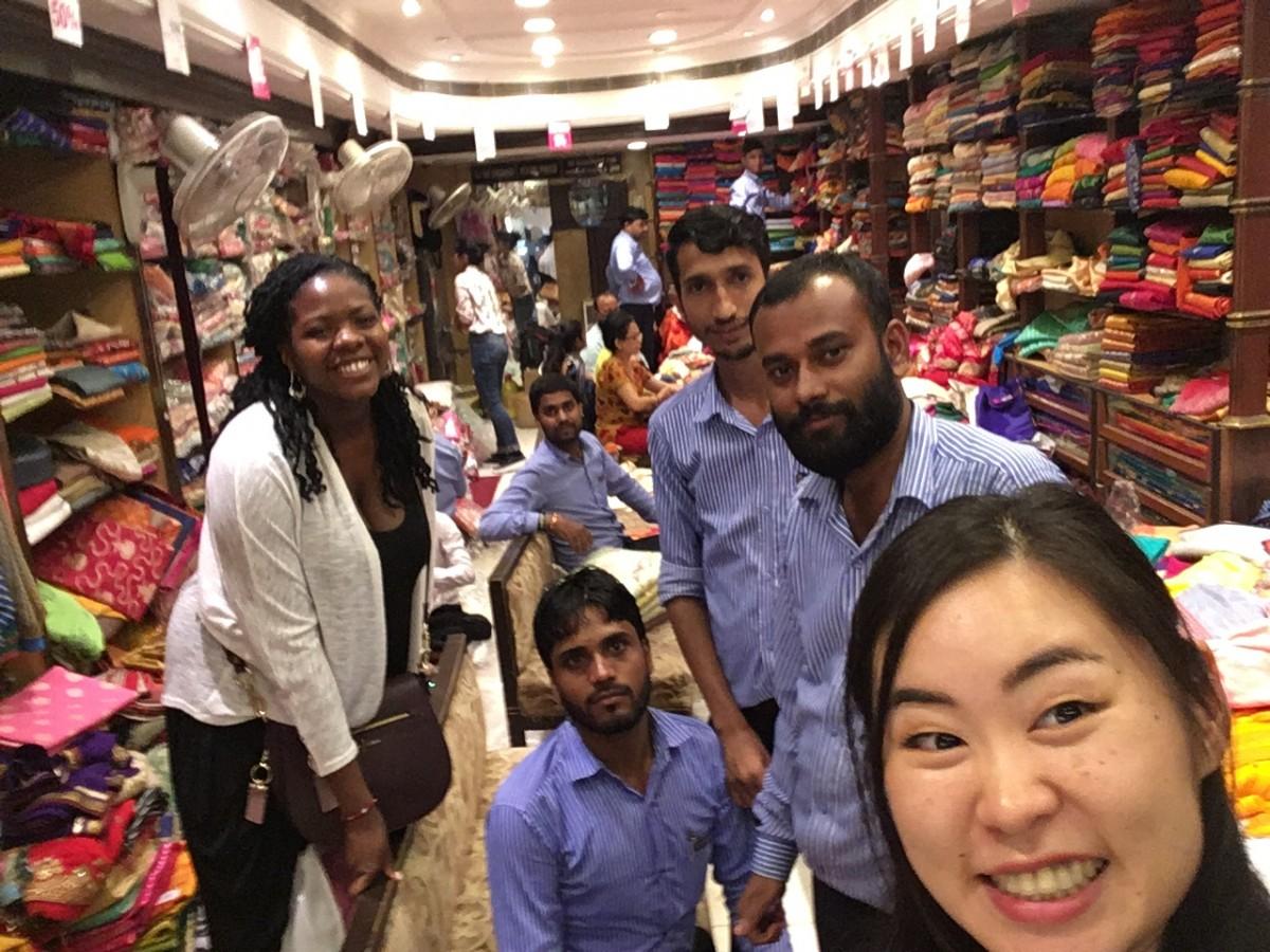 Shopping at Lajpat Nagar