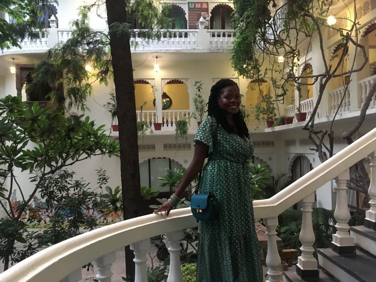 Staying at Lake Pichola Hotel
